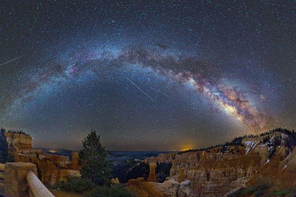Le ciel vu du Bryce Canyon