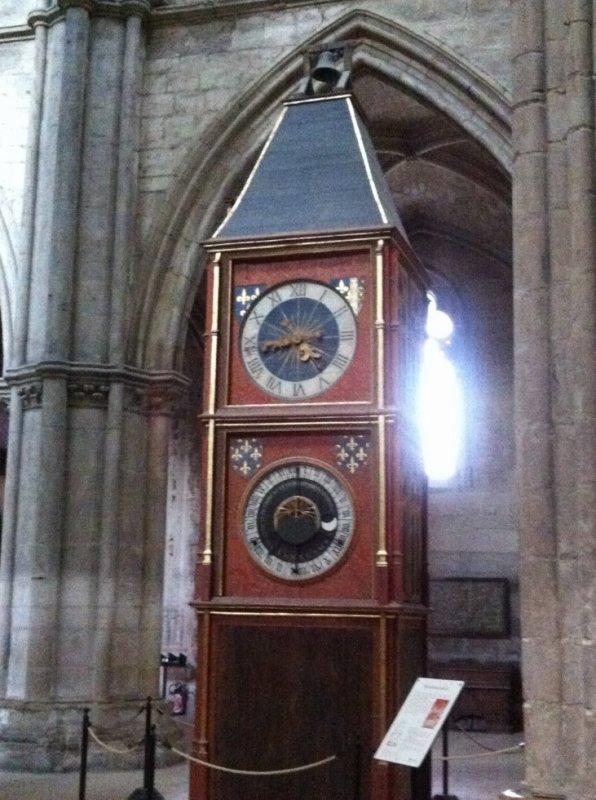 Horloge astronomique de la Cathédrale de Bourges