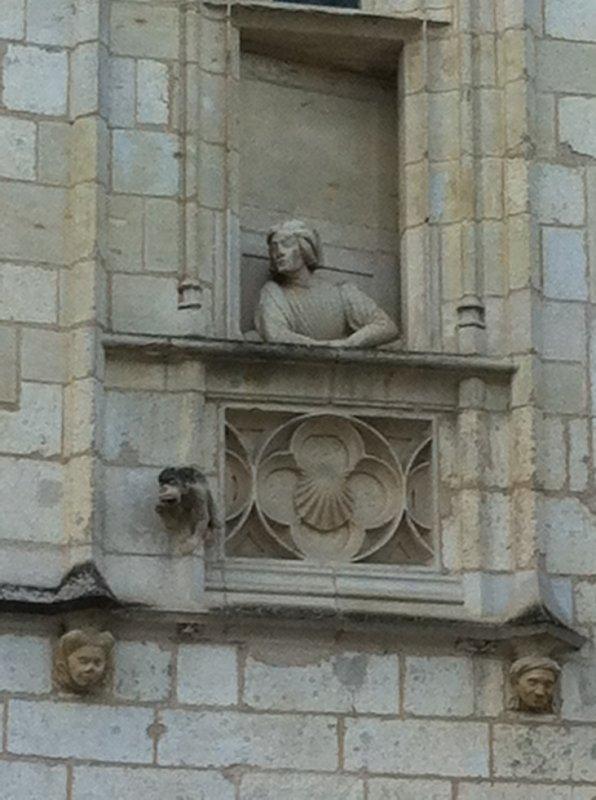 Jacques Coeur à sa fenêtre