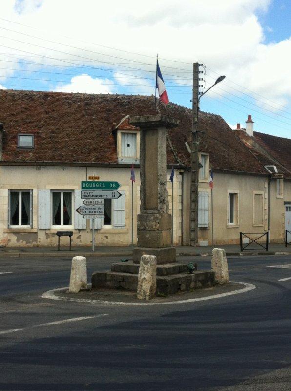 Centre de la France à Bruère-Allichamps