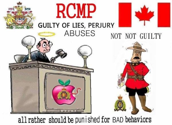 La JUSTICE canadienne....