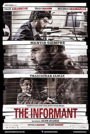"""GIBRALTAR sort en Espagne en langue espagnole sous le titre """"THE INFORMANT"""""""""""