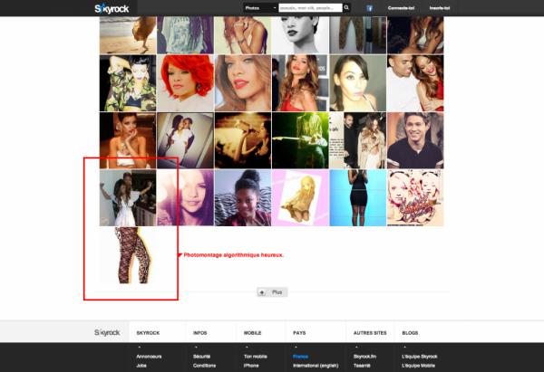 Photomontage algorithmique heureux