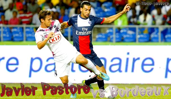 Trophée des Champions, Paris Saint-Germain - Bordeaux : 2-1 (0-1)