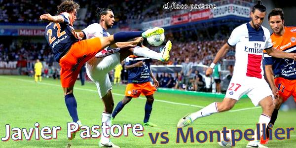 1ère journée de L1, Montpellier - Paris Saint-Germain : 1-1 (1-0)