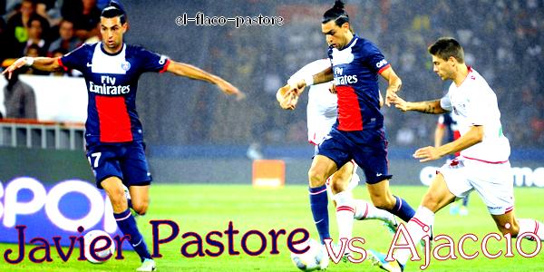 2ème journée de L1, Paris Saint-Germain - Ajaccio : 1-1 (0-1)
