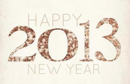 En avant 2013!