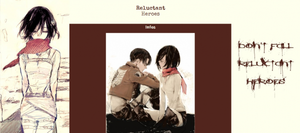 Habillage n°11 - Reluctant Heroes [2nd version]