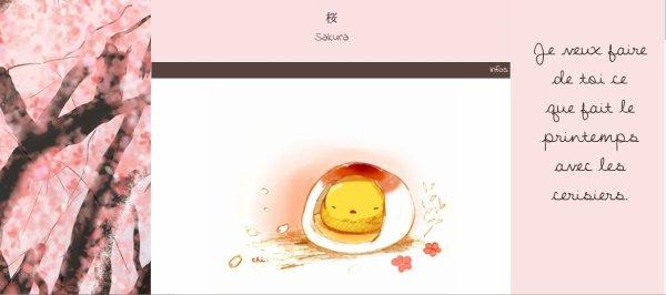 Habillage n°15 - 桜