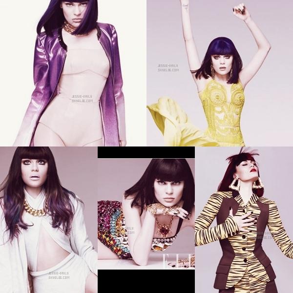 .Photoshoot__Un nouveau photoshoot de Jessie pour le magazine ELLE vient d'apparaître .