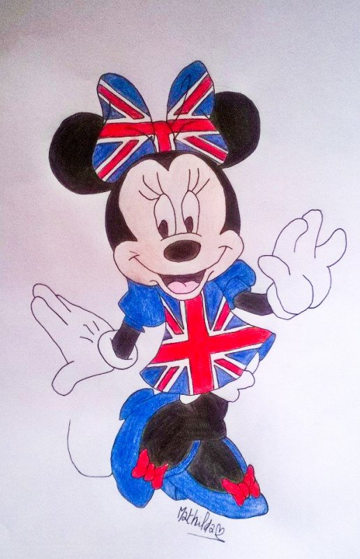 Minnie version Londres