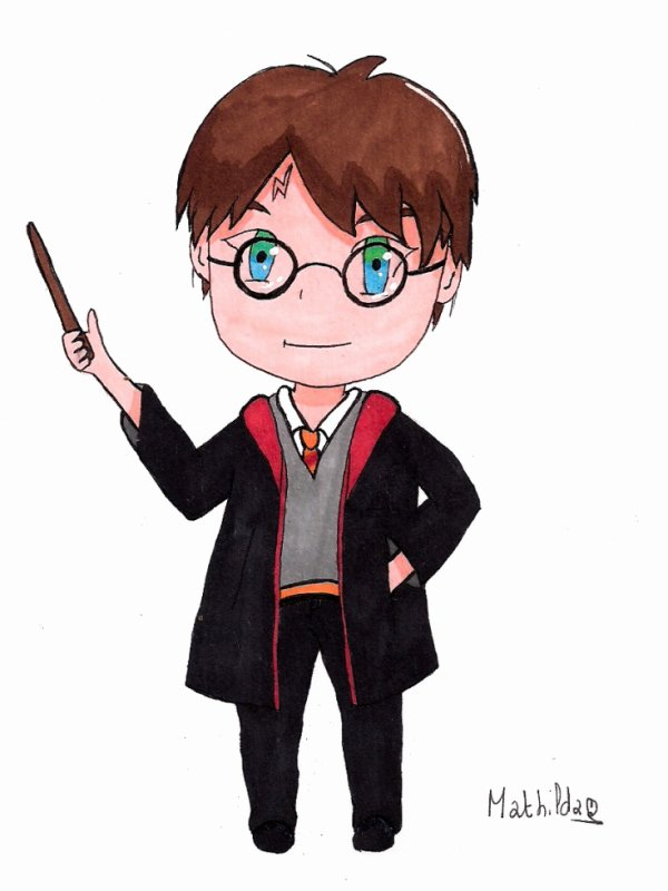 Harry Potter Chibi
