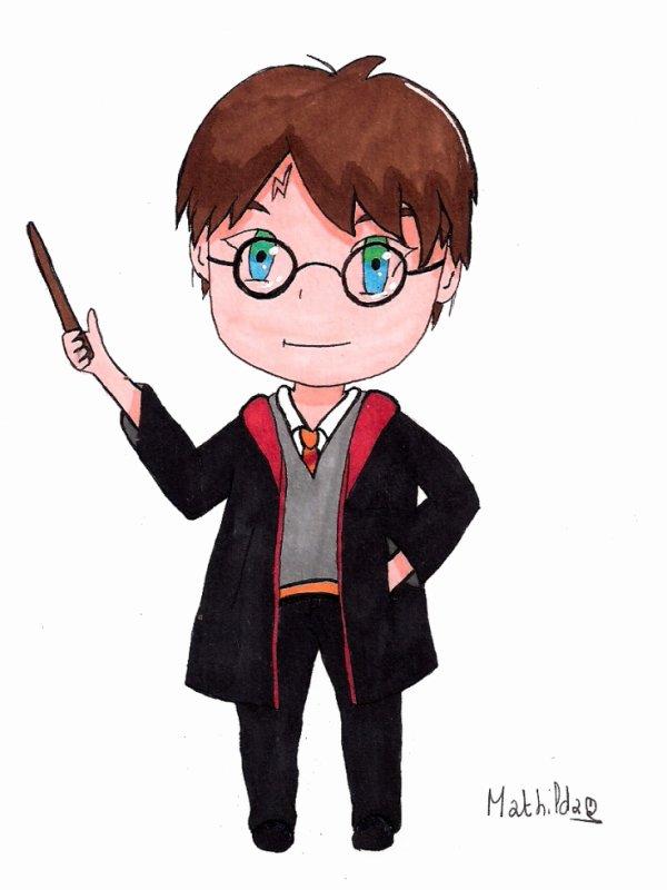 Harry Potter Chibi