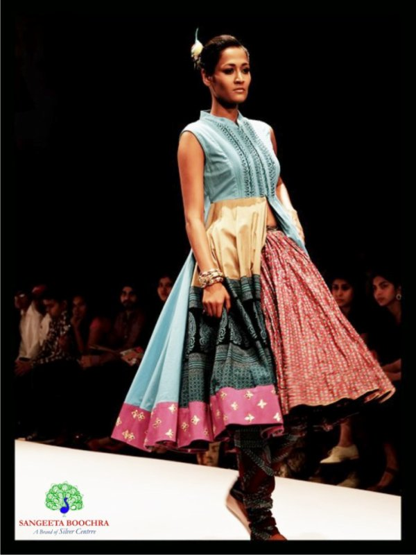 Sangeeta Boochra Designer Jewellery Collection at Lakme Fashion Week.