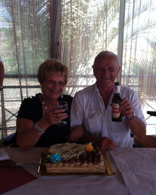 50 ans de mariage papy et Mamy!!