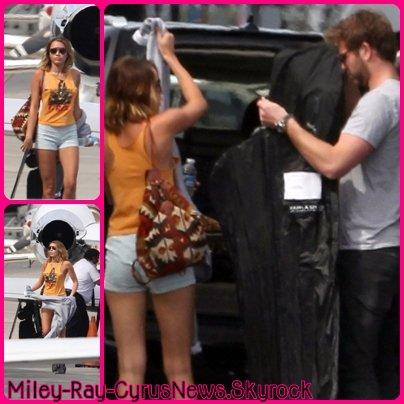 Miley & Liam Le 24 Mars 2012