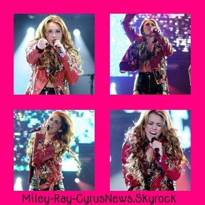 Le concert de Miley en Argentine
