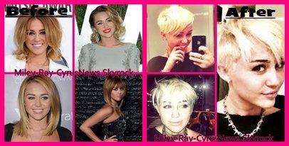 La nouvelle coupe de Miley