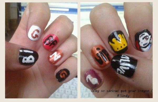 BIGBANG Nail Art <3~