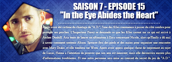 In the Eye Abides the Heart (épisode réalisé par Troian Bellisario)