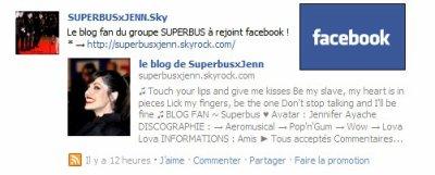 ☆ SUPERBUS x JENN . SKY SUR FACEBOOK ☆