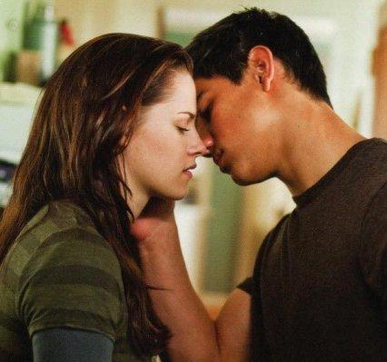 Jacob et Bella dans new moon
