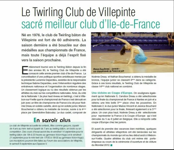 Twirling club de Villepinte
