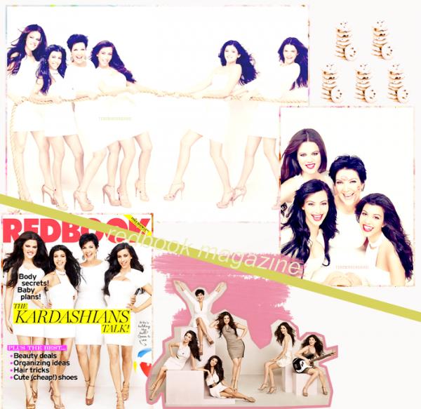 Kardashians Cover RedBook magazine