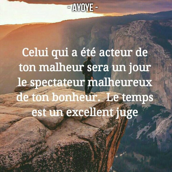 Si seulement....