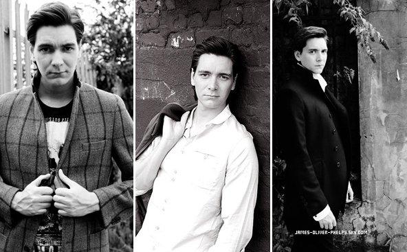 Encore un photoshoot seulement de James cette fois-ci .Les jumeaux ont participés au Projets Avon Walk For Breast.