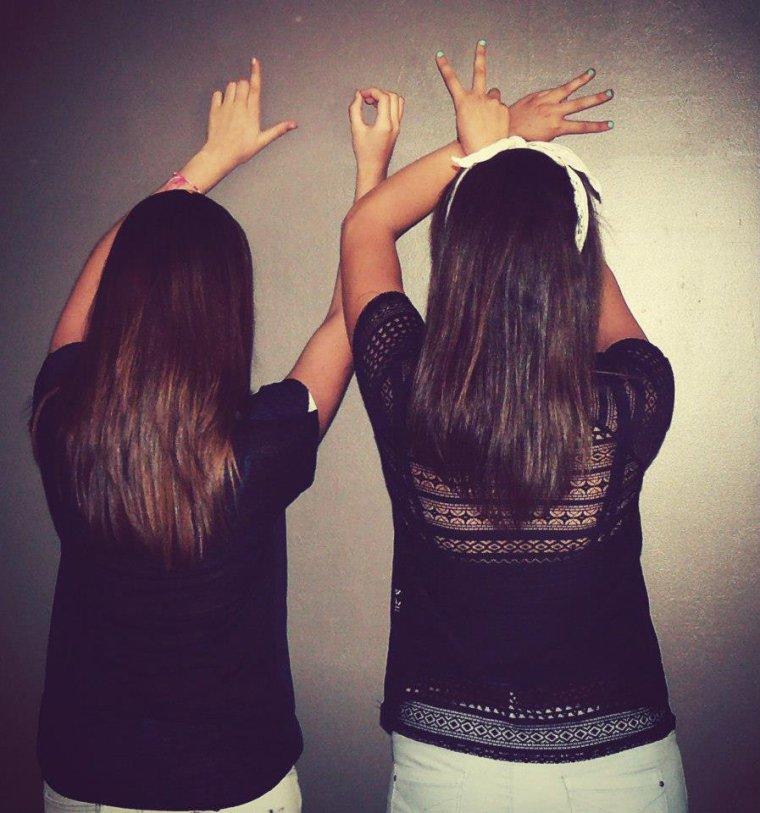 #Ma meilleure amie, la plus importante!♥