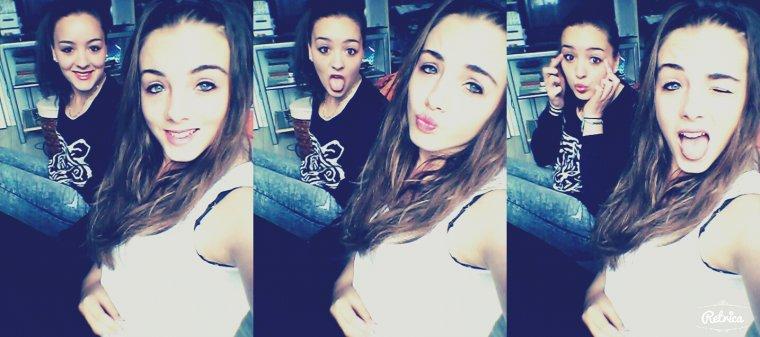 Ma meilleure amie; la mieu!!!! ♥♥