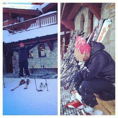 Matt a la montagne