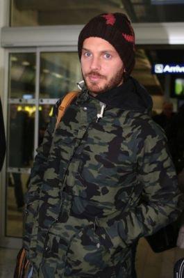 Matt a l'aéroport de Nice