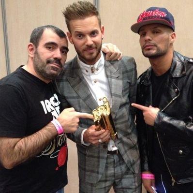 Matt NRJ award 2013