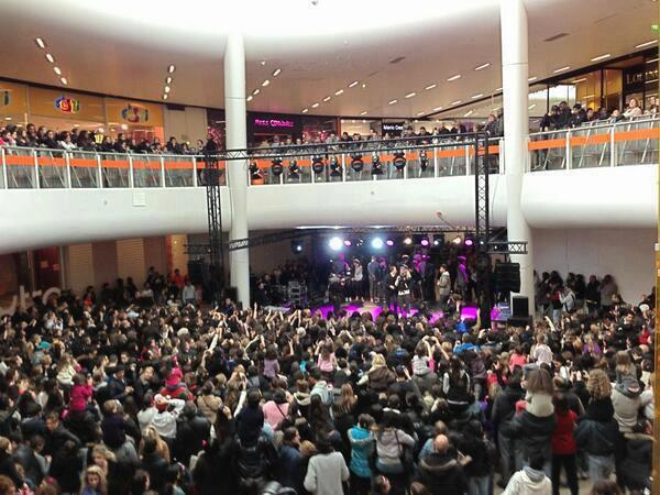 Showcase Robin des Bois Centre Commercial O'Parinor 06.04.13