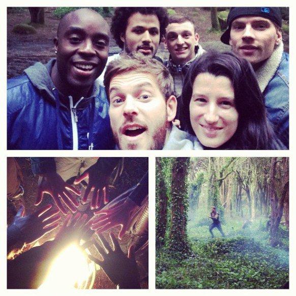 tournage robin des bois A Nous