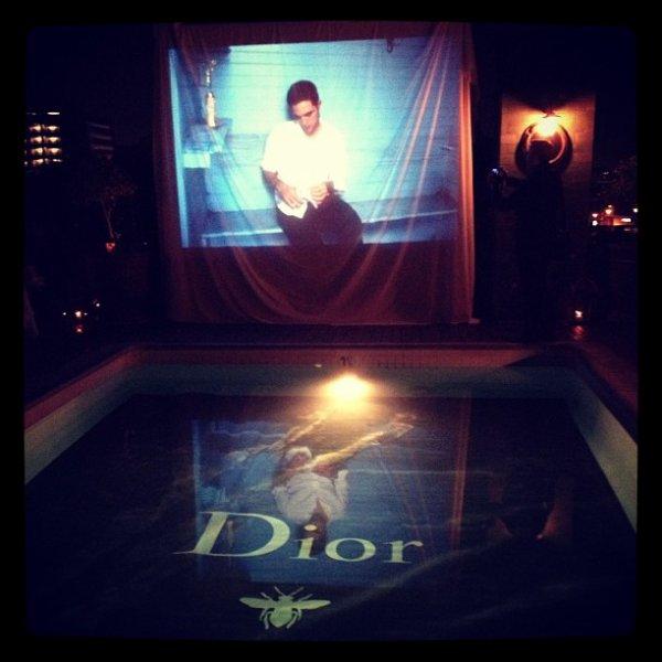 Pub de Rob pour la maison Dior !