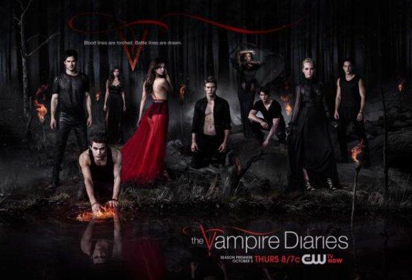 Affiche de la saison 6 de The Vampire Diaries!