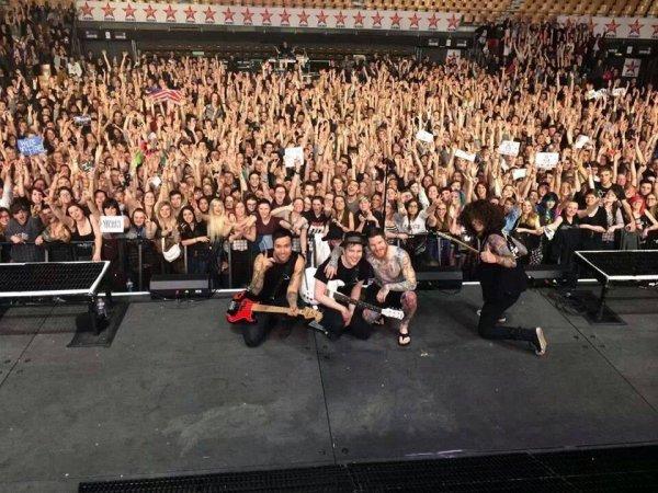 Concert Fall Out Boy le Jeudi 06 mars 2014 au zénith de Lille.