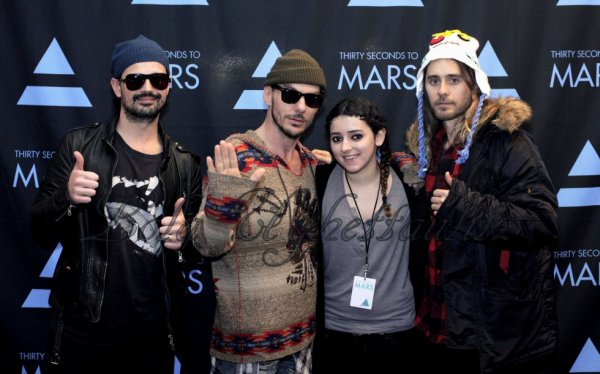 Concert de Thirty Second To Mars le samedi 15 février 2014 au zénith de Lille.