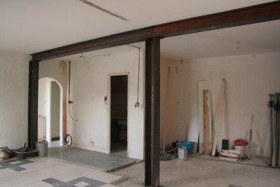 Pose des ipn blog de notre maison31 - Pose d un ipn mur porteur ...