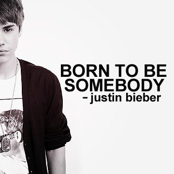 Pochette de Justin Bieber - Born To The Somebody