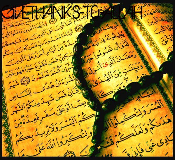 GiVE THANKS T0 ALLAH [ S0URATE AL FATiHA ] (2011)