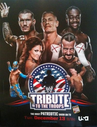 Poster du Tribute To The Troops