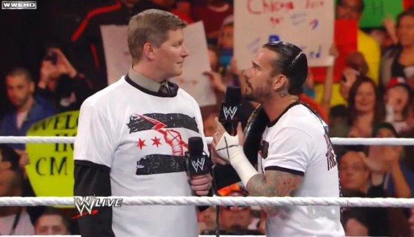 CM Punk vs John Laurinaitis bientôt ?