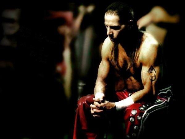 Shawn Michaels donne des conseils à The Miz pour le Rumble Match (l)