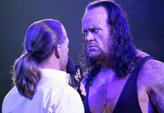 Programme léger pour Undertaker + futurs apparitions d'Undertaker et HBK