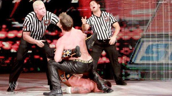 Chris Jericho - Cm Punk : 3 - 0