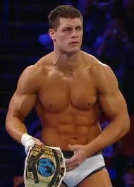 Cody Rhodes : Il travaille blessé